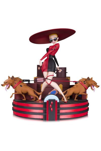 Sculpted by IRENE MATAR Inspired by the title card from the classic BATMAN: THE ANIMATED SERIES episode 'Harley's Holiday,' this amazingly detailed statue captures Harley as she's about to hit the...