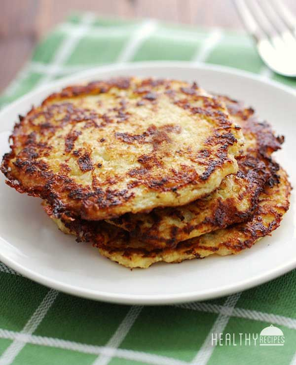 Cauliflower Pancakes Recipe