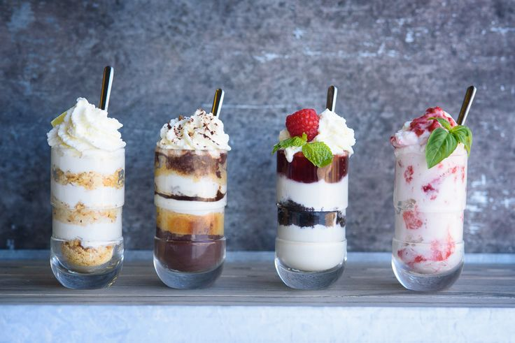 Shot glass desserts are the perfect little sweet treat after dinner and will be the highlight of any party you throw.
