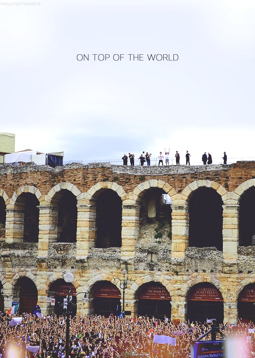 on top of the world<3
