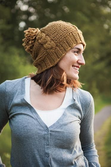 Afraid of Cables Hat - Knitting Patterns and Crochet Patterns from KnitPicks.com: