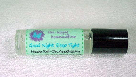 Good Night Sleep Tight   Natural Sleep Aid Roll-On by TheHippyHomemaker, $10.00
