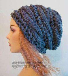 Женские шапки спицами | Вязание Шапок - Модные и Новые Модели