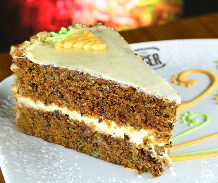 Warm Carrot Cake!