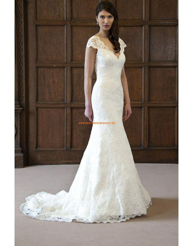 Augusta Jones 2013 Meerjungfrau Glamouröse Hochzeitskleider aus Satin