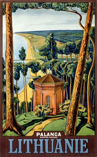 Lithuania Travel Poster. Tourism to Lithuania is relatively new since the 1980s and the establishment of Lithuania as a free republic. Arab culture has traditionally travelled to Mecca for pilgrimages to the sacred Mosque built by Mohammad. SUBSCRIBE YOUTUBE CHANNEL: http://www.youtube.com/user/TheFederic777?sub_confirmation=1