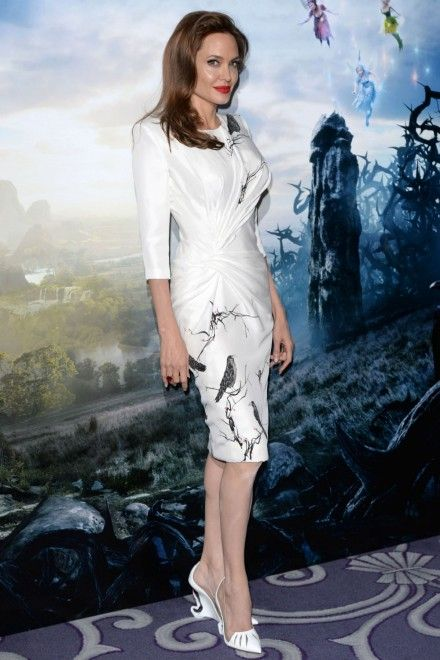 Angelina Jolie Wears Yet Another Maleficent-Inspired Outfit   Marie Claire