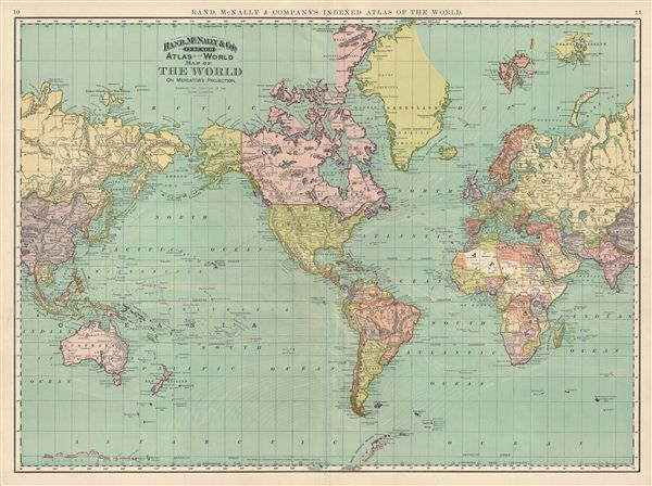 vintage world atlas related - photo #26