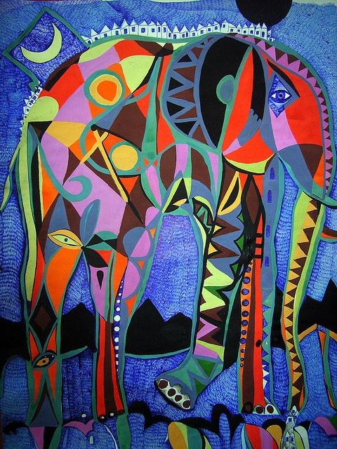 Elefant 2 by op art /2, via Flickr