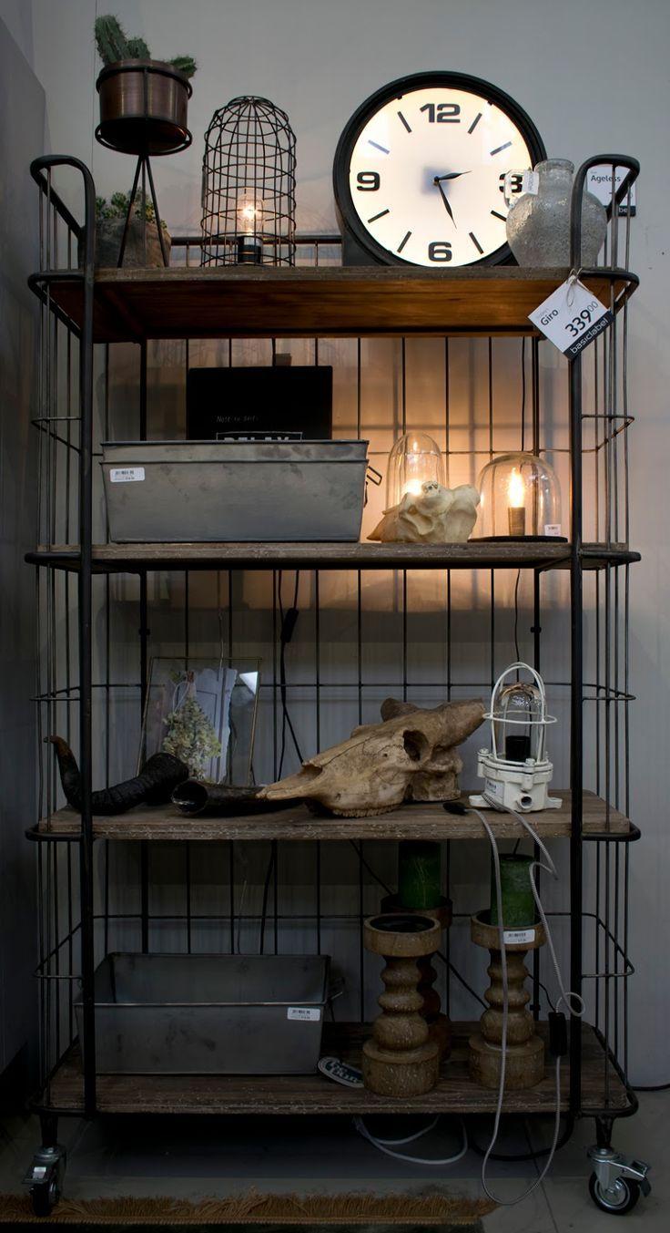 Gisteren Was Ik Op De Vtwonen Beurs Vintage Industrial Furniture Industrial Furniture Home Decor
