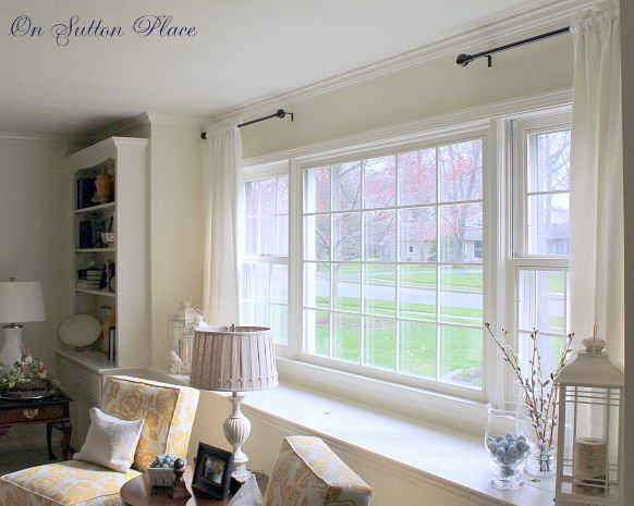15 Must-see Large Window Treatments Pins | Cheap curtains, Long ...