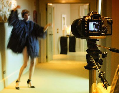 """Check out new work on my @Behance portfolio: """"""""Seventies so chic"""" (Backstage)"""" http://on.be.net/1EUc5v0"""