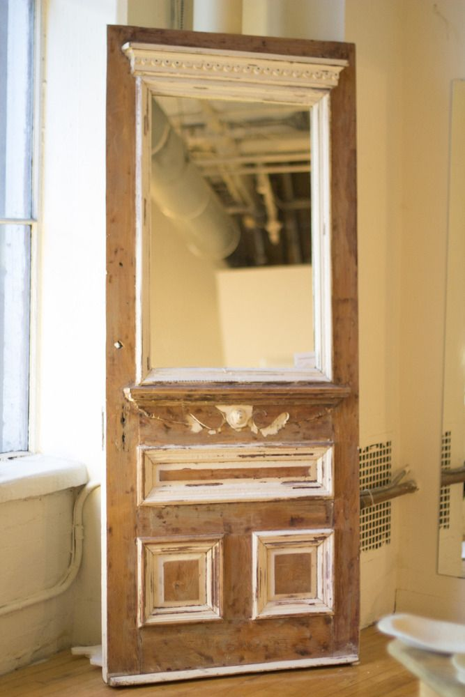 151 best images about old door projects on pinterest for Window mirror ideas