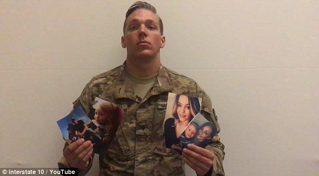 Andrew and Justin will reunite at Bagram Airfield in the next few weeks to complete their deployment together