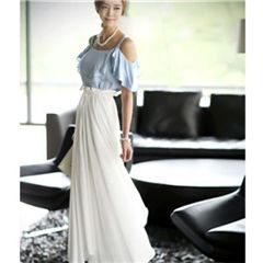 Jewelled maxi dress ukuran