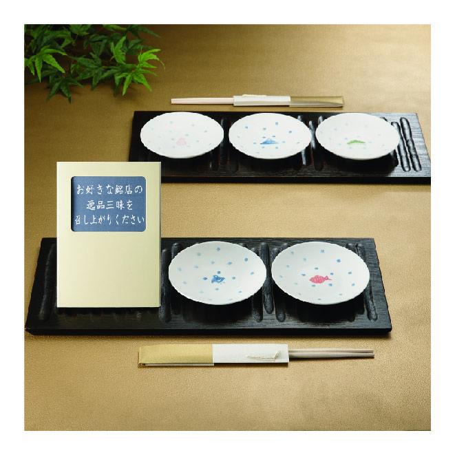 【目上のゲストの方も納得!】引き出物で人気の豆皿。そんな豆皿に、浅草今半や銀座貝新などの老舗のグルメが選べるカタログギフトがセットに。数多くの結婚式に出席されている目上の方にも、きっとご満足されること間違いなしです。http://www.myprecious.co.jp/tablestory/lineup/select013.html