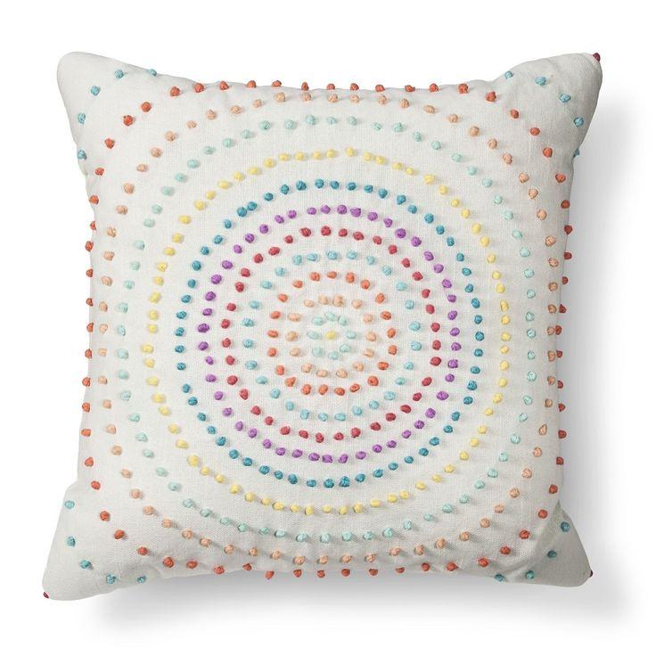 Texture Knot Circle Throw Pillow - Xhilaration Pillows, Big girl bedrooms and Throw pillows