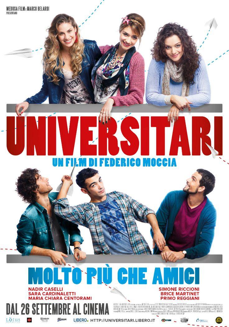 Universitari - molto più che amici, dal 26 settembre al cinema.