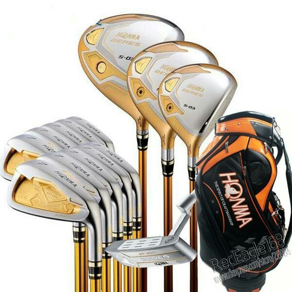 Noted for their World Class Precision,we have a large collection of #Honma golf clubs at: ourgolfshop.com #golfclubs #golf