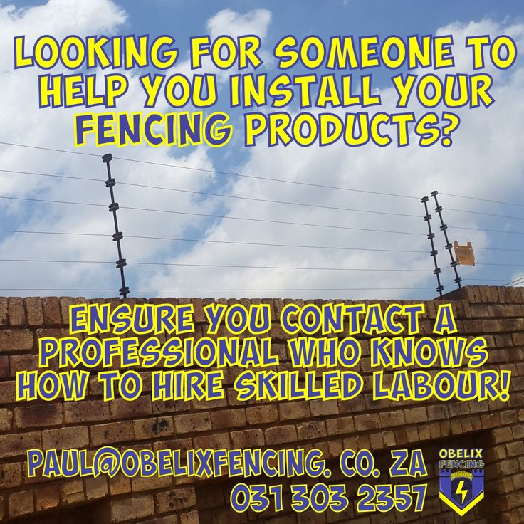 Looking for someone to help you install your fencing product?  Ensure you contact a professional who knows how to hire skilled labour! paul@obelixfencing.co.za    #noscablabour #nobakkiebrigade  #professional #electricfence #origional  #ObelixFencing