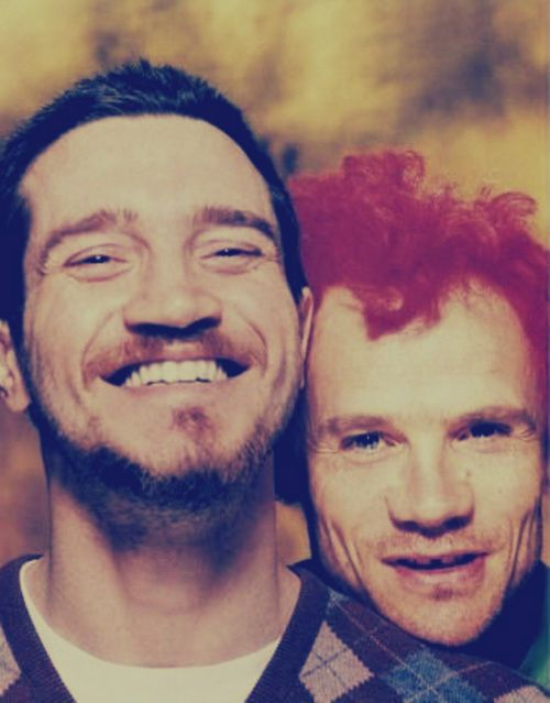 john frusciante and flea