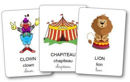 Imagier du cirque                                                       …
