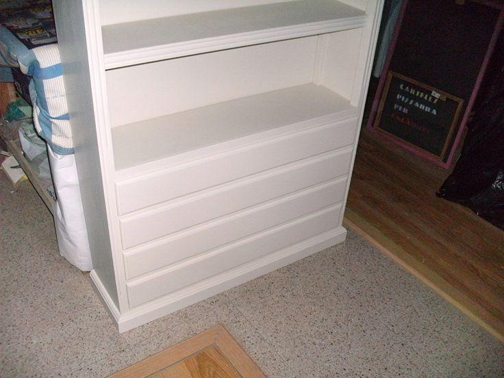 Pinta tus viejos muebles de blanco y gana luminosidad y amplitud