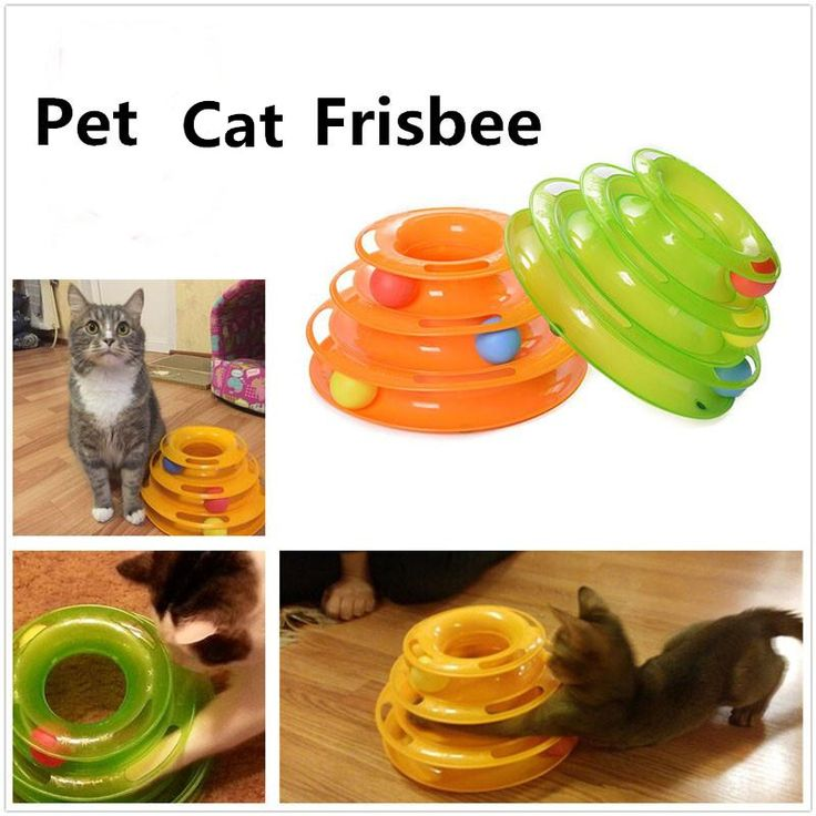 BUY now 4 XMAS n NY. 2017 New Three Levels Tower Tracks Disc Cat Pet Toy Intelligence Amusement Rides Shelf for Cute Cat * Details on this item can be viewed on  AliExpress.com. Just click the VISIT button. #xmasgiftsforboyfriend