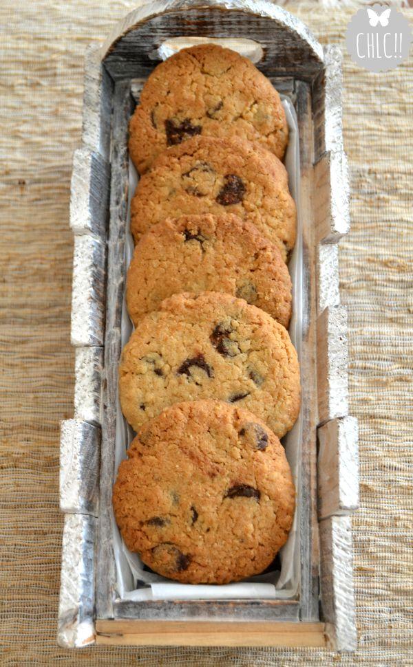 Galletas de avena y chocolate. Para unas 20/25 galletas 175 g de mantequilla (a…