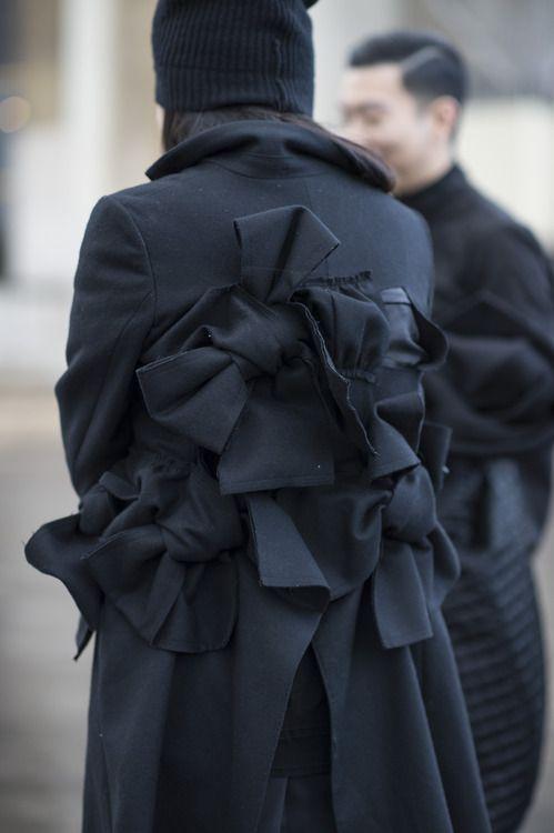 Comme des Garcons • Paris Fashion Week • Photo by Julien Boudet • bleumode.com