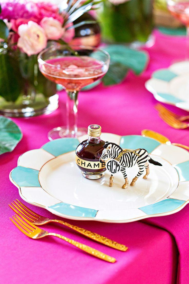 Cocktail Party Favor Ideas Part - 30: DIY Cocktail Party Tablescape