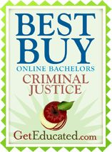 The 25 Best Online Criminal Justice Bachelor s Degree #best #online #colleges #for #criminal #justice http://reply.nef2.com/the-25-best-online-criminal-justice-bachelor-s-degree-best-online-colleges-for-criminal-justice/  # Best Affordable Online Criminal Justice Bachelor's Degree Comprehensive national online learning surveys from Get Educated reveal the top 25 Best Buys for an affordable criminal justice bachelor's degree from online colleges across the U.S. The national rankings include…