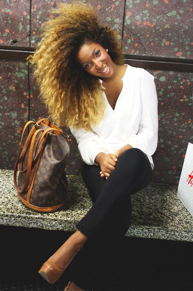 Black girls, Killing it and Brown blonde on Pinterest