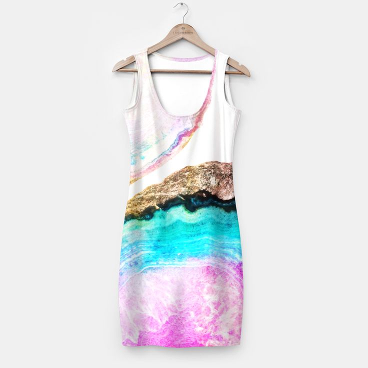 Agate V2 Pattern Simple Dress, Live Heroes