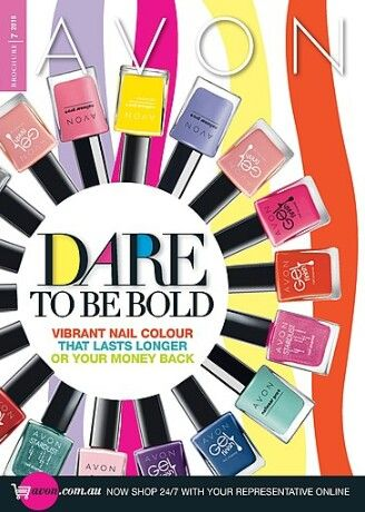 DARE TO BE BOLD - Campaign 7 https://shop.avon.com.au/store/kellylakeman