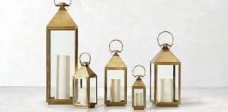 Brass Lanterns in 3 Sizes