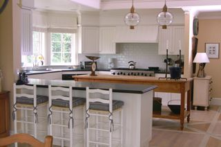 Pinterest the world s catalog of ideas for Cape cod style kitchen cabinets