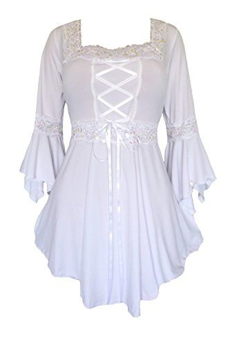 Dare To Wear Victorian Gothic Plus Size Renaissance Corset Top Icing 3x Dare to Wear http://www.amazon.com/dp/B00WH468A8/ref=cm_sw_r_pi_dp_awNEvb1WBDPK5