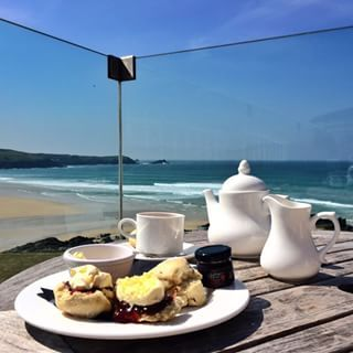 Cream tea at the Headland Hotel, Newquay | 18 Things Everyone Must Eat In Cornwall
