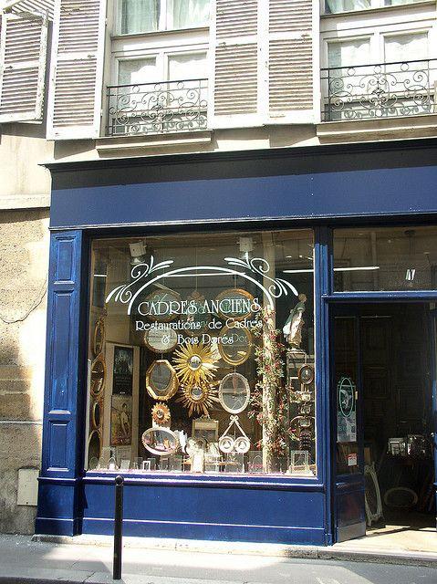 Paris Mirror Shop Window