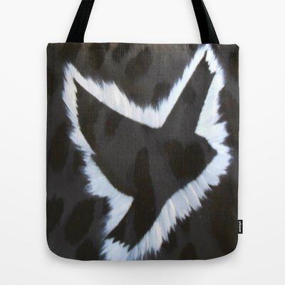 ThePeaceBombs - Dark Animal Tote Bag by ThePeaceBomb - $22.00 #thepeacebomb #totebage #madeintheusa #love #words #peace #animal #dark