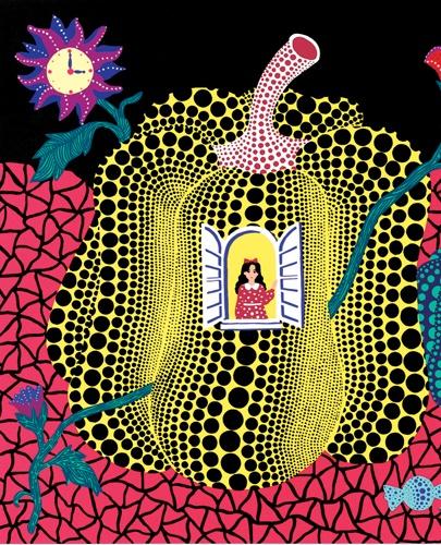 Alice nel aese delle Meraviglia  -   disegni  di Yayoi Kusama