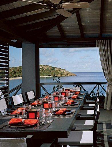 At Giorgio Armaniu0027s Vacation Home In Antigua