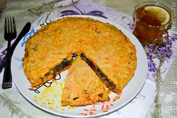 Овощной пирог / Рецепты с фото