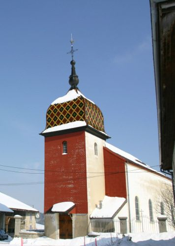 L'église de Boujeons, photo A. Maire