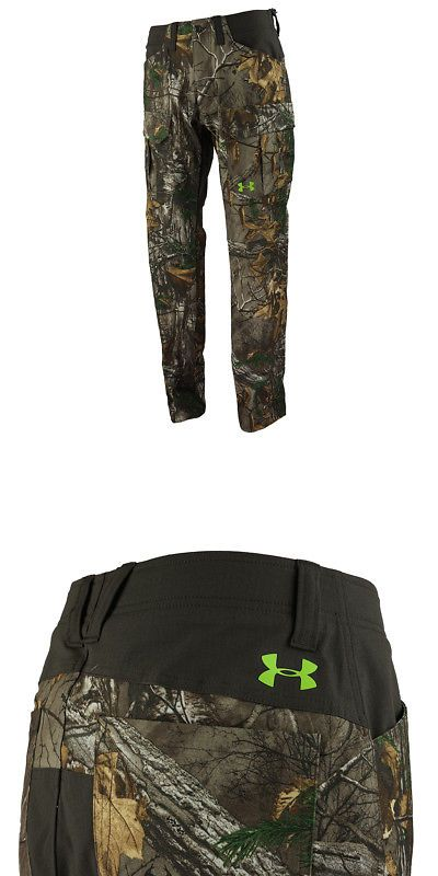 57704fa759eb6 Clothing Shoes and Accessories 36239: Under Armour Men S Ua Scent Control  Field Hunting Pants Realtree Xtra 38X32 -> BUY IT NOW ONLY: $44.99 on #eBay  ...