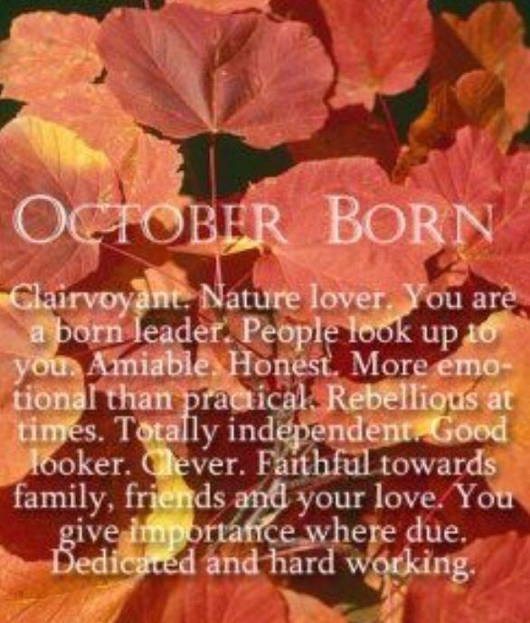 October Born --Me