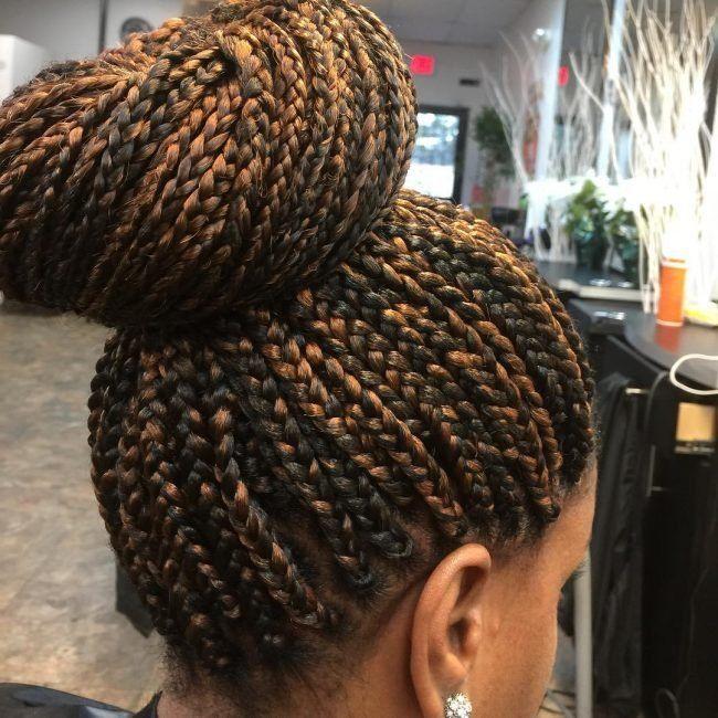 Popular Ghana Cornrow Box Braids - Fashionre