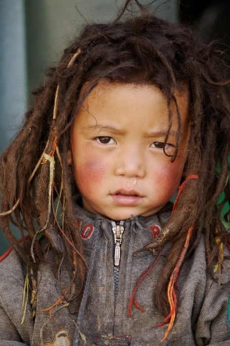 hope sage decides to dread his hair, i love dreads on kids. <3