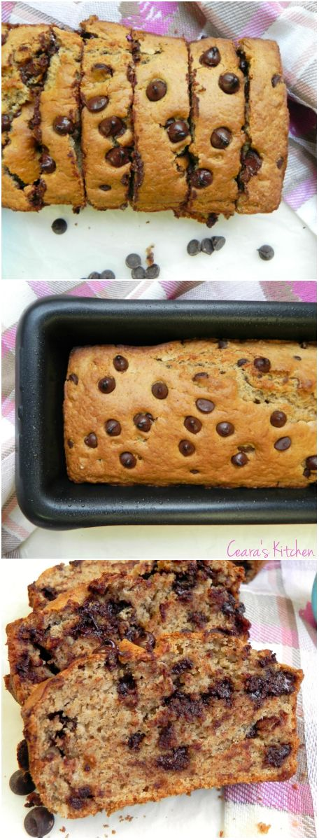 A healthy Chocolate Chip Muffin